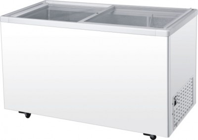 Glass Panel Chest Freezers